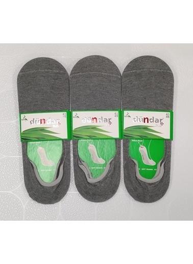 Dündar Erkek Bambu Babet Çorap Plus Dikişsiz 3'Lü Bordo